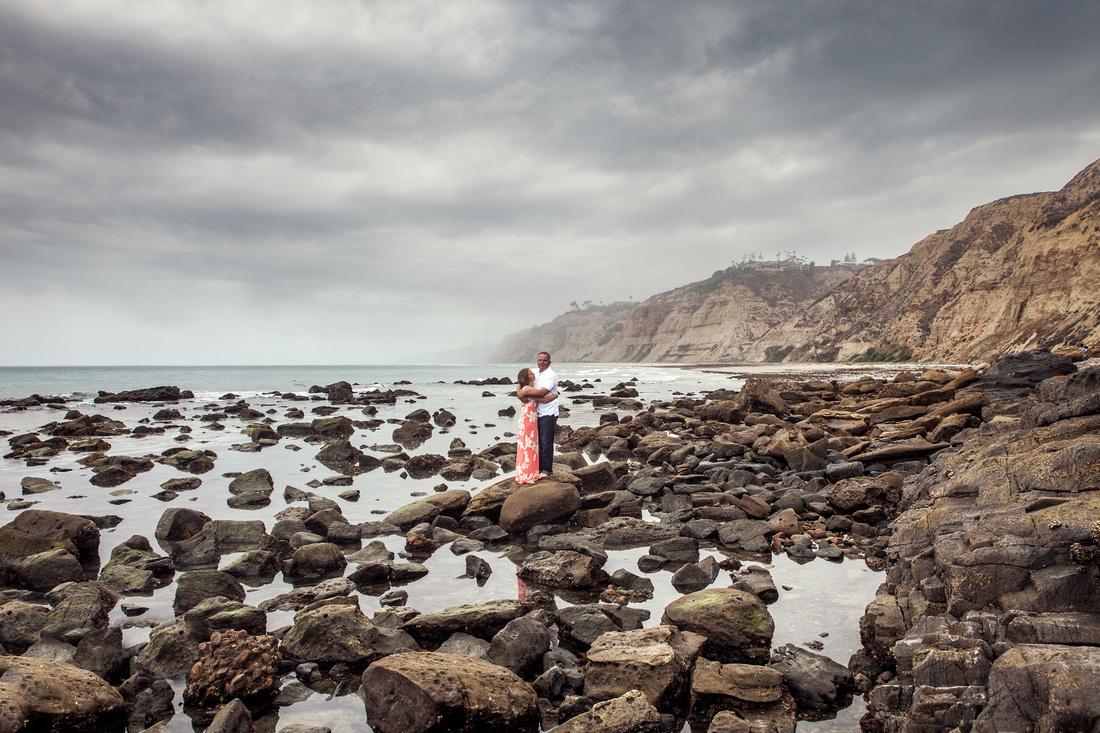 California Beach Vacation Portrait Landscape Art