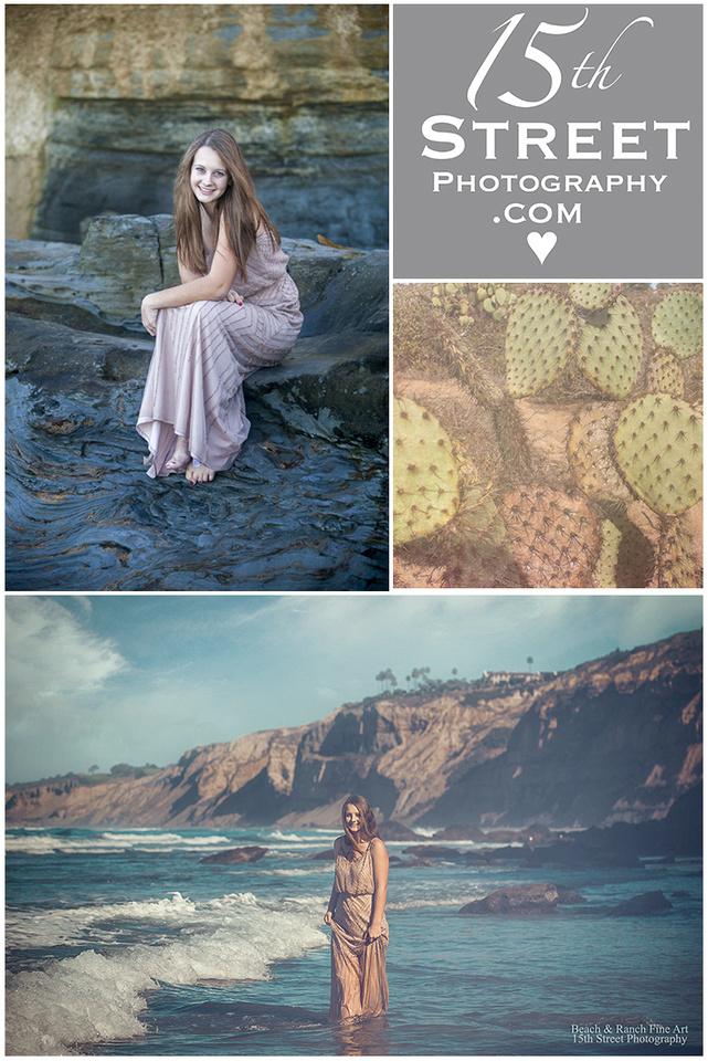 La Jolla Beach Portrait Headshot