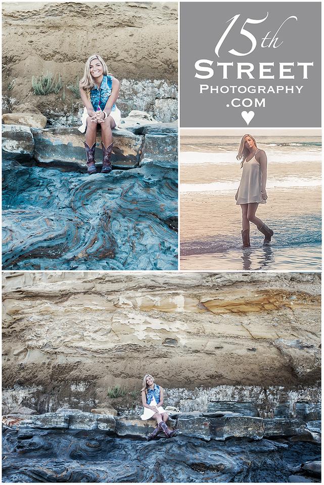 Best Senior Portrait Photographer Beach California Torrey Pines La Jolla San Diego Cathedral CCA TPHS