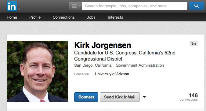 Political Campaign Portrait Headshot
