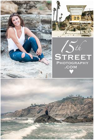 Beach Senior Portrait California Fashion Photographer Torrey Pines La Jolla San Diego Cathedral CCA TPHS