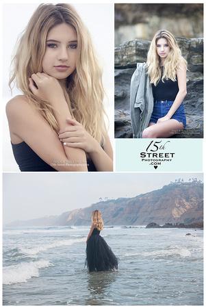 Model Beach Senior Portrait Photographer Torrey Pines La Jolla San Diego Cathedral CCA TPHS Los Angeles
