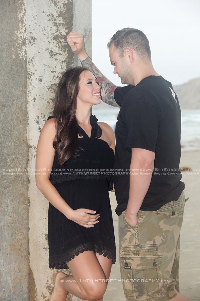 Best Maternity Portrait Pregnancy Photo Organic Elegant Baby Bump Style Beach Photoshoot by Celebrity & Award Winning Art Photographer Monica Kane Stewart 15th Street Photography San Diego Los Angeles
