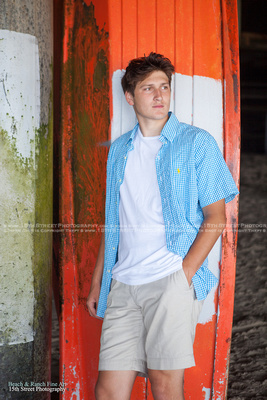 Venice Beach Senior Portrait Photographer Guy Torrey Pines Senior Picture San Diego La Jolla Canyon Crest Cathedral Catholic 15th Street Photography