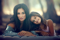 Beautiful Mother Daughter Family Child Portrait Photographer San Diego California 15th Street Photography Rancho Santa Fe Del Mar